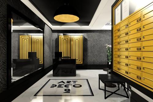 Willa Art Deco 2 Dobre Biuro Projektowe Hol